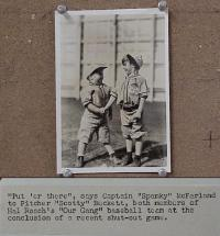 #030 SCOTTY & SPANKY BASEBALL 5x7 handshake