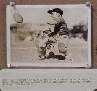 #031 SPANKY & SCOTTY 5x7 playing football
