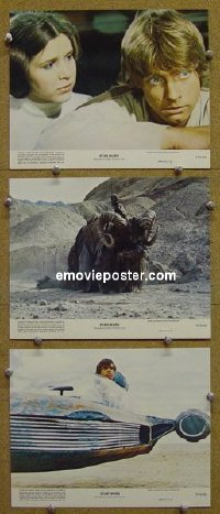 #3876 STAR WARS 3color 8x10s77 George Lucas
