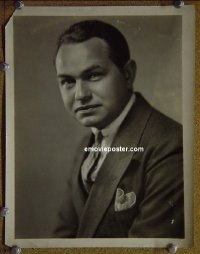 #3628 EDWARD G ROBINSON 8x10 c. early 30s