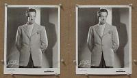 #036 HARRY JAMES two 8x10s portrait
