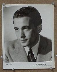 #034 PERRY COMO 8x10 portrait