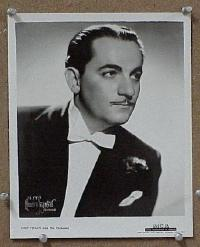 #038 SHEP FIELDS 8x10 portrait '30s