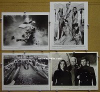 #4151 SPY WHO LOVED ME 4 8x10s77 #1 set of 4