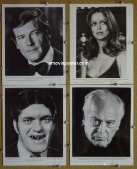 #4152 SPY WHO LOVED ME 4 8x10s77 #2 set of 4