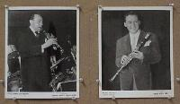 #035 WOODY HERMAN two 8x10s portrait
