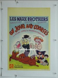 #2108 DAY AT THE RACES Belgian R40s Marx Bros