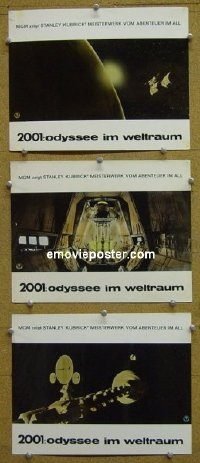 #6056 2001 A SPACE ODYSSEY 3 German LCs#2 '68