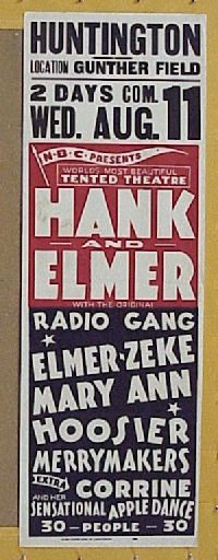 #016 HANK & ELMER Aust daybill '30s apple dance!