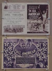 #050 ALL AMERICAN herald '32 Arlen, football