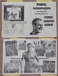 #058 COOL HAND LUKE herald '67 Paul Newman