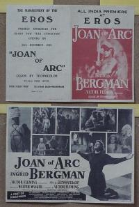 #064 JOAN OF ARC herald '48 Ingrid Bergman