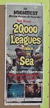 #178 20,000 LEAGUES UNDER THE SEA insert R63