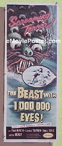 #195 BEAST WITH 1,000,000 EYES insert '55