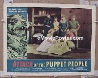 #332 ATTACK OF THE PUPPET PEOPLE LC '58 AIP