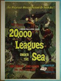 #2202 20,000 LEAGUES UNDER THE SEA 30x40 R71