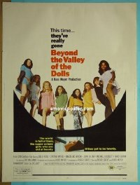 #2204 BEYOND THE VALLEY OF THE DOLLS 30x40 70