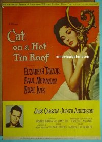 #2206 CAT ON A HOT TIN ROOF 30x40 '58 Taylor