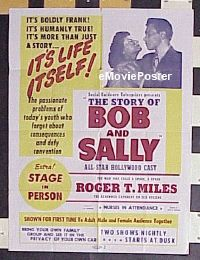 #030 STORY OF BOB & SALLY 30x40 48 sex hygine