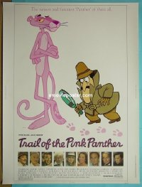 #2249 TRAIL OF THE PINK PANTHER 30x40 '82