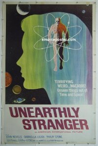 #2198 UNEARTHLY STRANGER 40x60 '64 AIP
