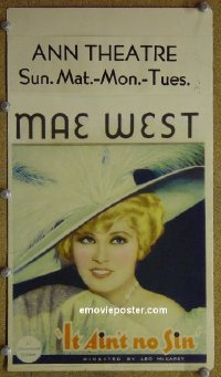 #6023 BELLE OF THE '90s mini WC '34 Mae West
