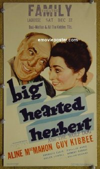#6024 BIG HEARTED HERBERT mini WC 34 MacMahon