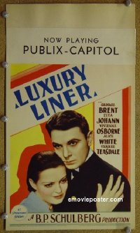 #6032 LUXURY LINER mini WC '33 George Brent