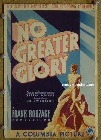 #6033 NO GREATER GLORY miniWC34 Frank Borzage