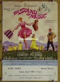 #6043 SOUND OF MUSIC mini WC '65 Andrews