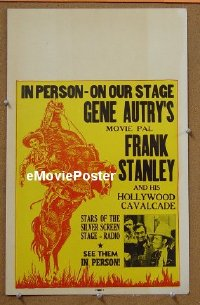 #047 FRANK STANLEY IN PERSON WC '30s stage