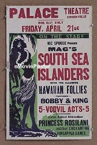 #014 SOUTH SEA ISLANDERS WC '30s nude native!