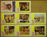 F016 5 GATES TO HELL 8 lobby cards '59 James Clavell