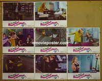 F051 BAREFOOT IN THE PARK 8 lobby cards '67 Redford, Jane Fonda