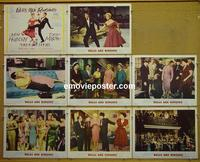 F063 BELLS ARE RINGING 8 lobby cards '60 Judy Holliday
