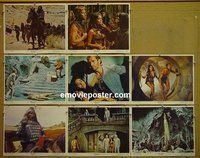 F067 BENEATH THE PLANET OF THE APES 8 lobby cards '70 Franciscus