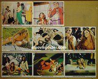 F073 BEYOND THE VALLEY OF THE DOLLS 8 lobby cards '70 Russ Meyer