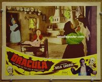 K818 DRACULA lobby card #7 R51 praying for help!