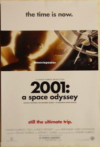 h210 2001 A SPACE ODYSSEY DS one-sheet movie poster R00 Stanley Kubrick