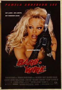 h222 BARB-WIRE DS one-sheet movie poster '96 Pamela Anderson Lee