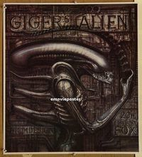 h067 ALIEN 20x22 special '90s Ridley Scott sci-fi classic, cool H.R. Giger art of monster!
