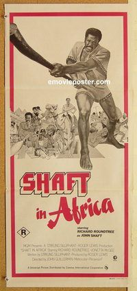 Blaxploitation movie posters