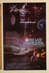 G688 last starfighter one sheet movie poster 84 lance guest