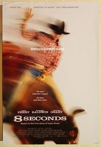 f006 8 SECONDS one-sheet movie poster '94 James Rebhorn, Luke Perry