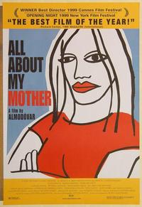 f021 ALL ABOUT MY MOTHER DS one-sheet movie poster '99 Pedro Almodovar