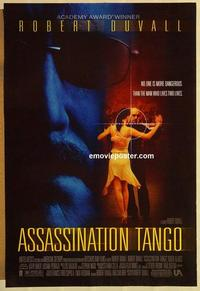 f040 ASSASSINATION TANGO DS one-sheet movie poster '02 Robert Duvall