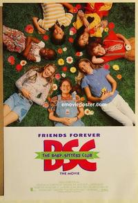 f046 BABY-SITTERS CLUB DS one-sheet movie poster '95 Melanie Mayron
