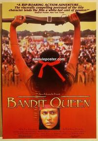 f052 BANDIT QUEEN one-sheet movie poster '94 Phoolan Devi biography!