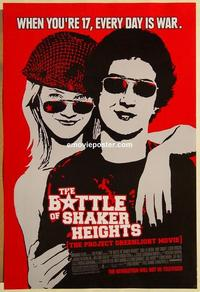 f065 BATTLE OF SHAKER HEIGHTS one-sheet movie poster '03 LaBeouf, Henson