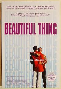 f070 BEAUTIFUL THING DS one-sheet movie poster '96 MacDonald, gay romance!